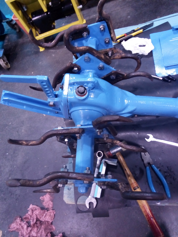 restauration - Restoration d'un Rotovator Img_2097
