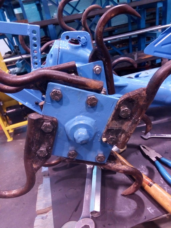 restauration - Restoration d'un Rotovator Img_2098
