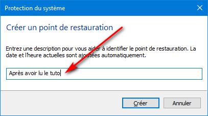 Tuto - points de restauration système Tuto_p17