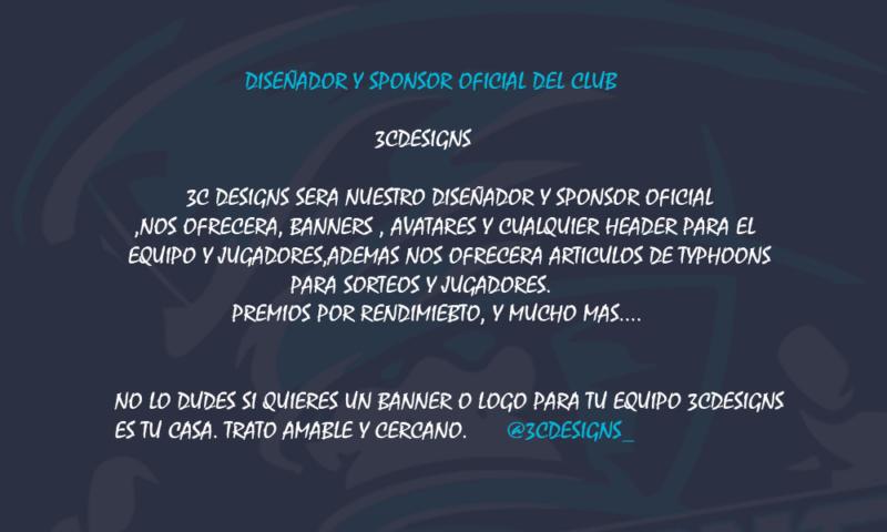 SPONSOR Y DISEÑADOR DEL CLUB 3c_for10