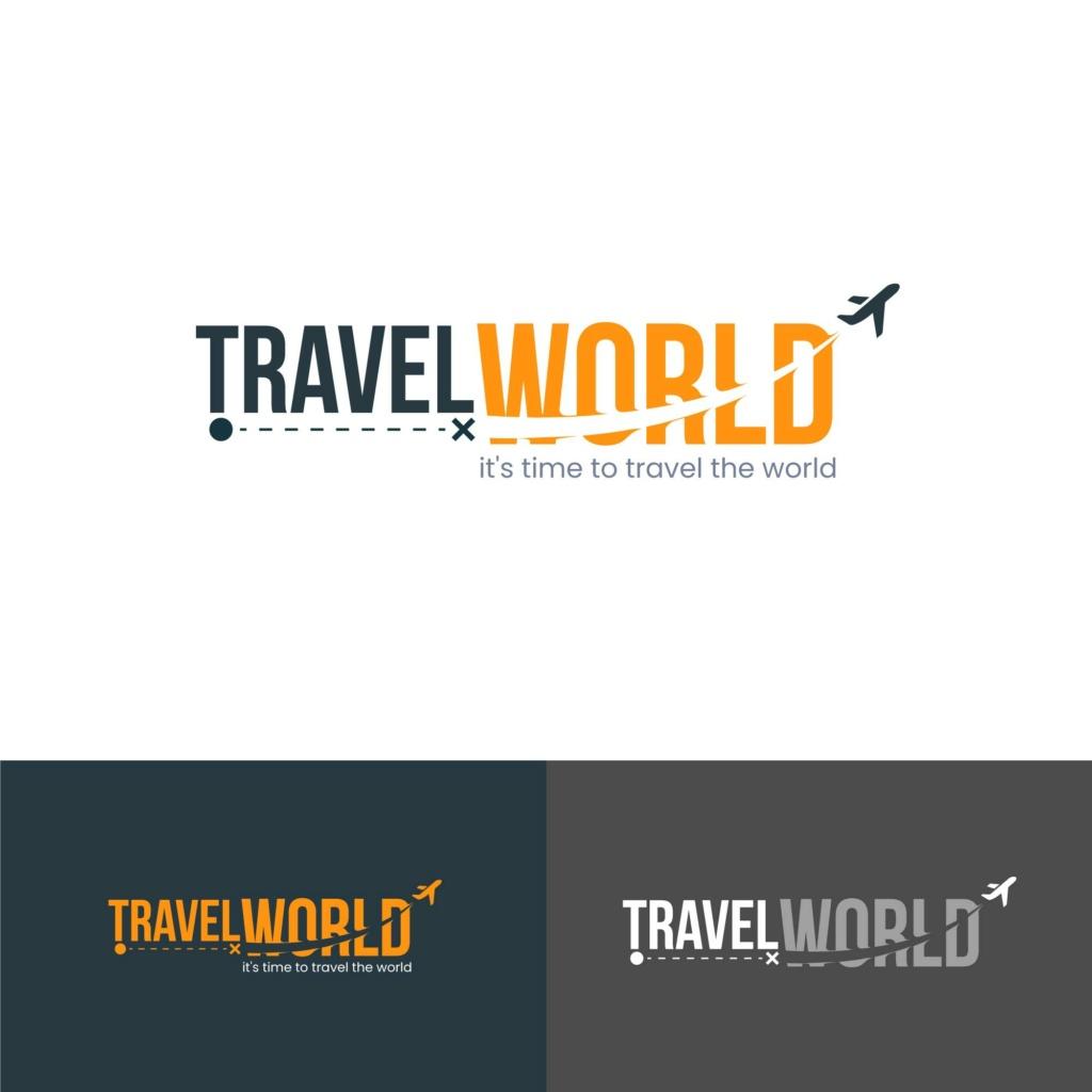 20 شعار فيكتور جاهزة للتعديل لشركة السياحة 1110
