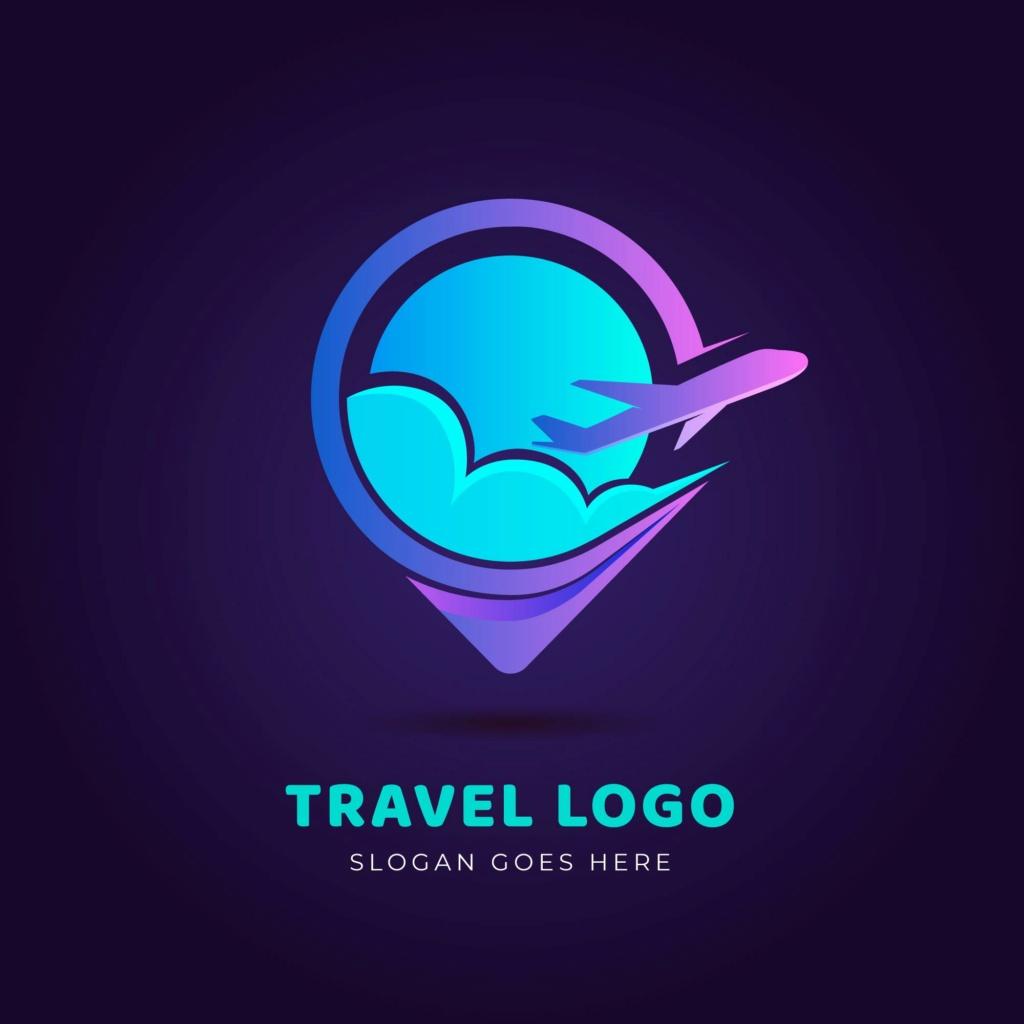 20 شعار فيكتور جاهزة للتعديل لشركة السياحة 112