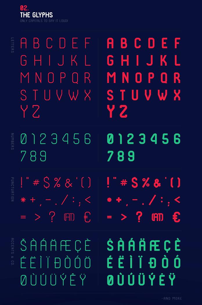 الخط الانجليزي شكودر SHKODER 1989 TYPEFACE 2-the-10