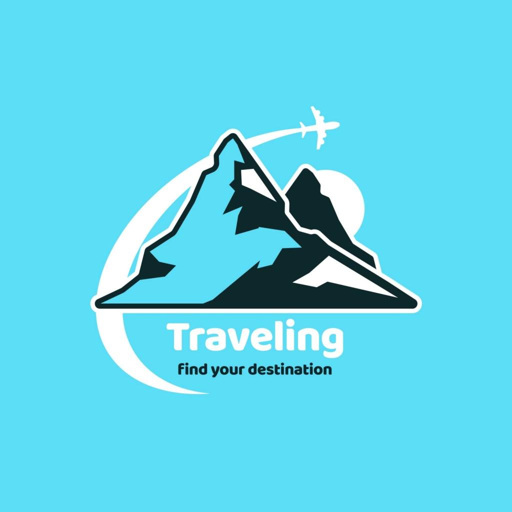 20 شعار فيكتور جاهزة للتعديل لشركة السياحة 311