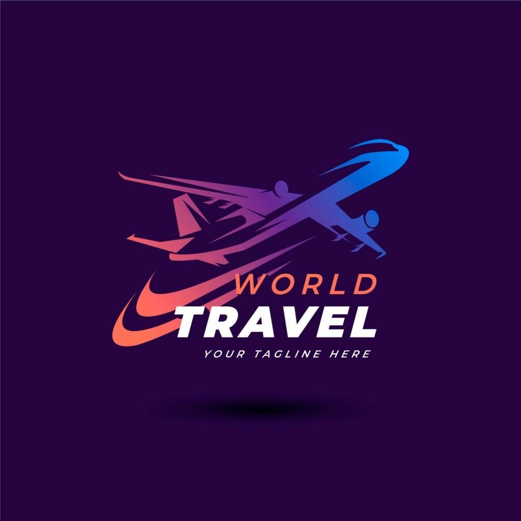 20 شعار فيكتور جاهزة للتعديل لشركة السياحة 711