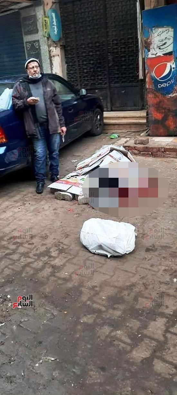 مقتل معلمة على يد زوجها أمام المدرسة التى تعمل بها في بولاق الدكرور 01112