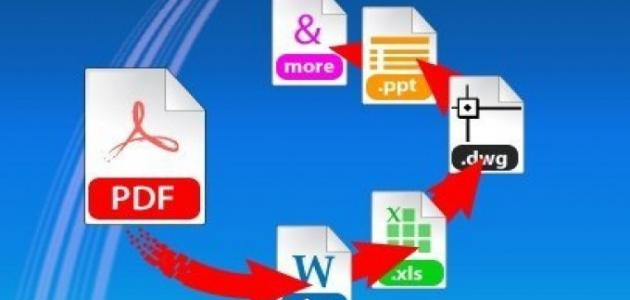 تحويل كتاب مطبوع pdf إلى word فى دقائق 1003310