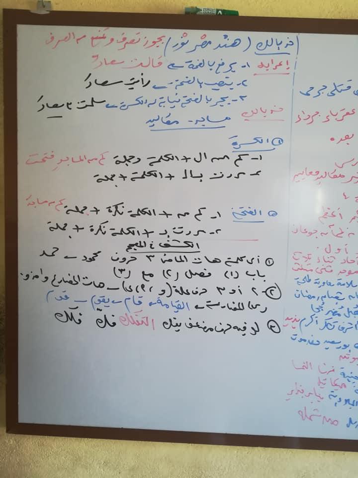 مراجعة الممنوع من الصرف بطريقة مبتكرة للصف الثالث الإعدادي والثالث الثانوي 1362