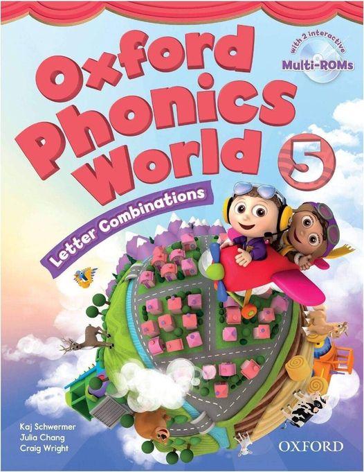 لغة انجليزية   Oxford Phonics World - أقوي كورس لتعليم الصوتيات للأطفال وللمبتدئين 1424