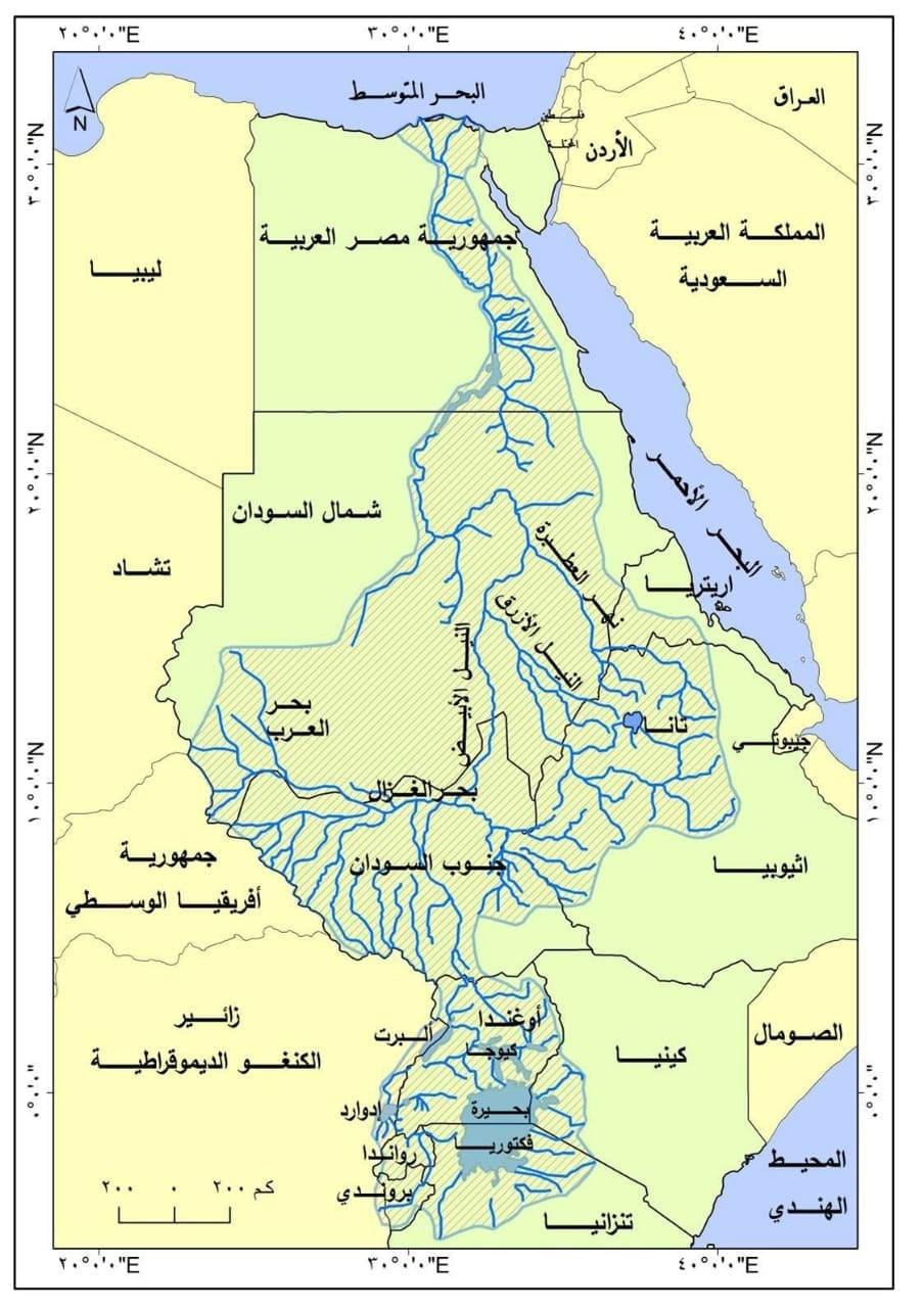 """حقوق مصر التاريخية فى مياه النيل """"تفاصيل بالأدلة"""" 2228"""