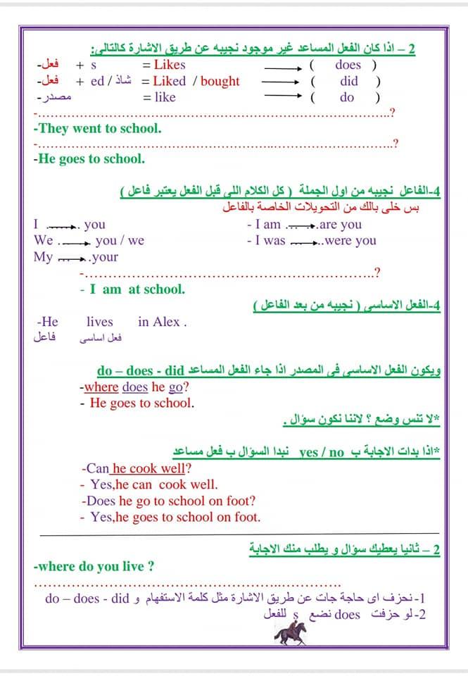لغة انجليزية | المحادثة والقطعة بأسلوب بسيط للصف الثالث الاعدادى مستر سليم البطران 2261