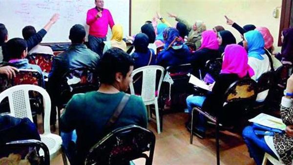 حملات على مراكز الدروس الخصوصية بمحافظة الشرقية وغلق وتشميع 9 سناتر 35111