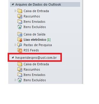 Coletar dados Caixa entrada emails Duvida16