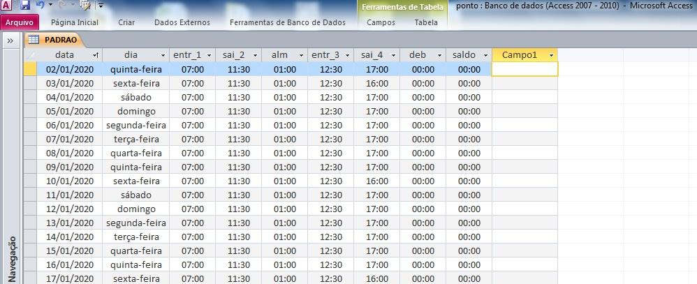 [Resolvido]Copiar e renomear tabela Tabela10