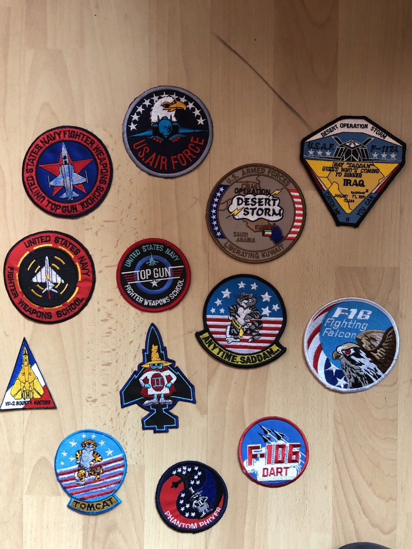 Collection Patch escadron  0481bf10