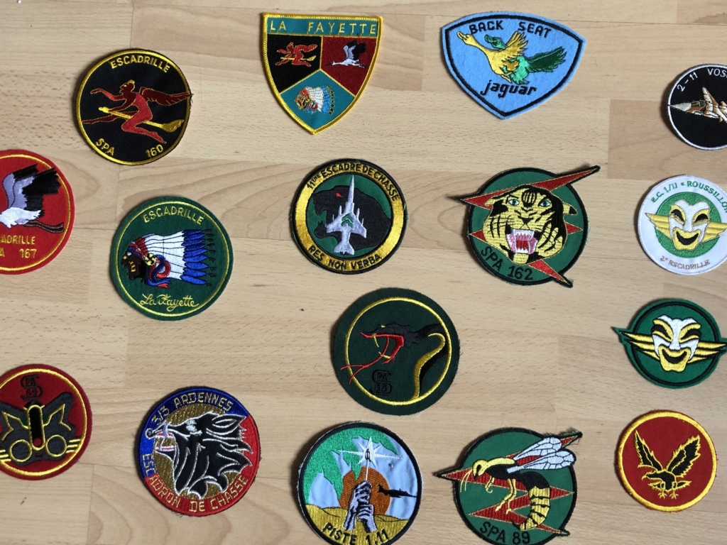 Collection Patch escadron  1b873f10