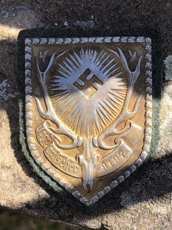 Badge surveillant de chasse allemand Ww2 552ded10