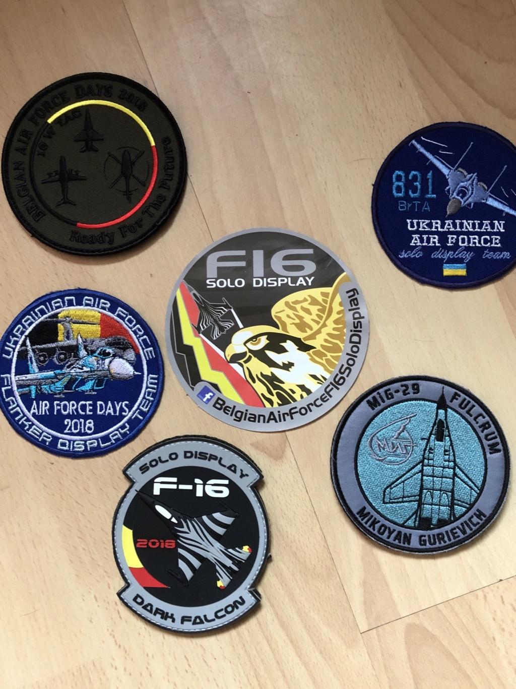 Collection Patch escadron  6f0e0710
