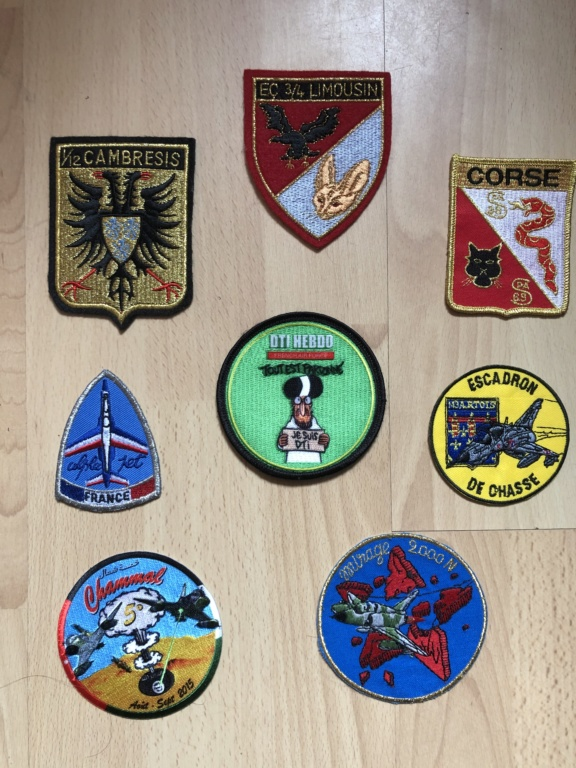 Collection Patch escadron  90109f10