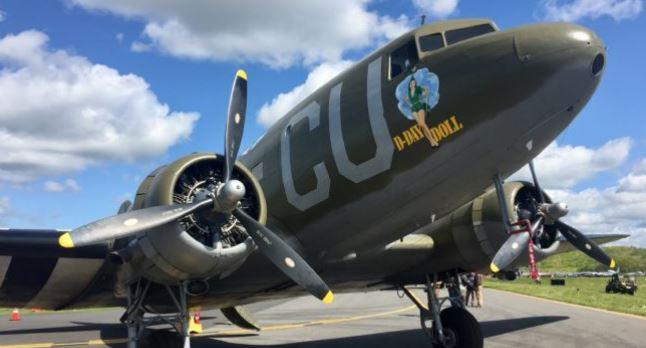 les avions du D-Day reprennent du service D-day10