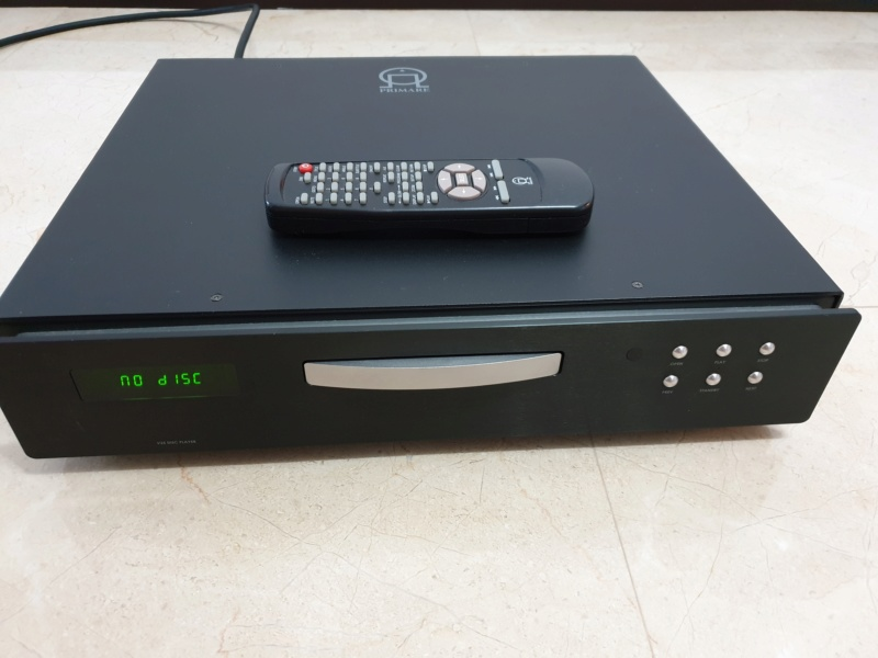 Primare V25 CD/DVD Player (Sold) Front11