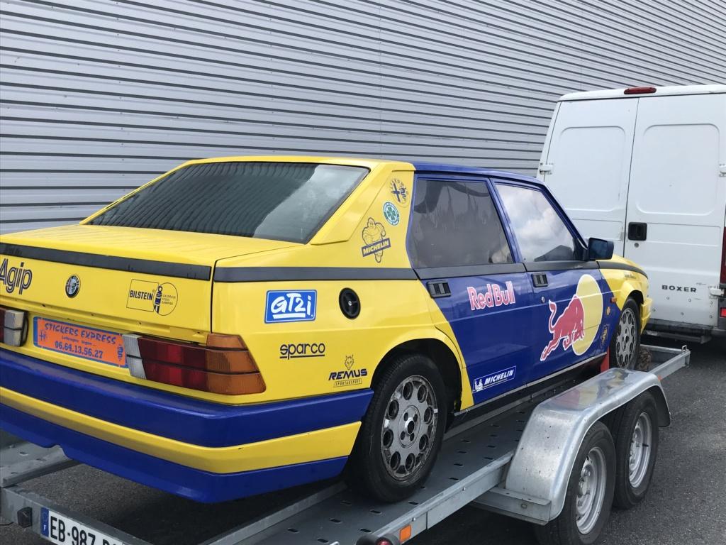 Alfa 75 turbo piste A93de410