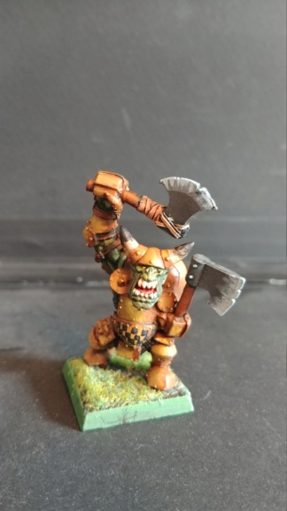 Shinny new Black orc warband  07241820