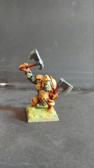 Shinny new Black orc warband  07241824