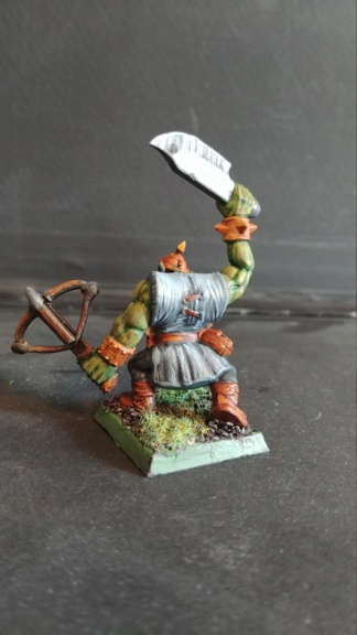 Shinny new Black orc warband  07241831
