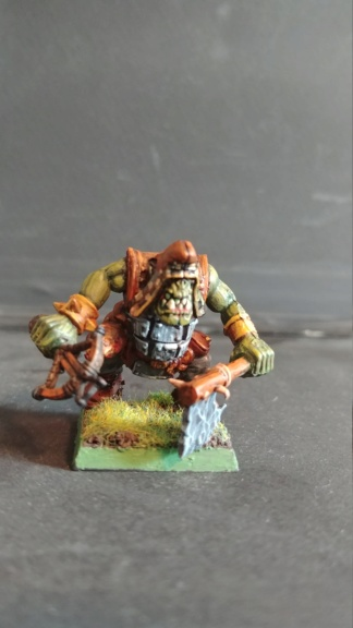 Shinny new Black orc warband  07241835