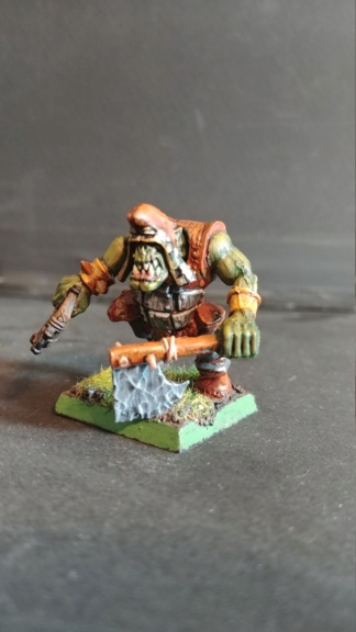 Shinny new Black orc warband  07241836