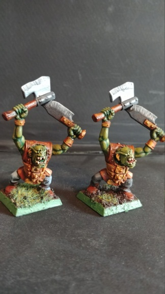 Shinny new Black orc warband  07241838