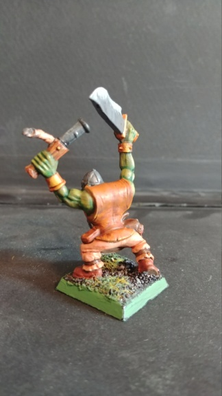 Shinny new Black orc warband  07241844