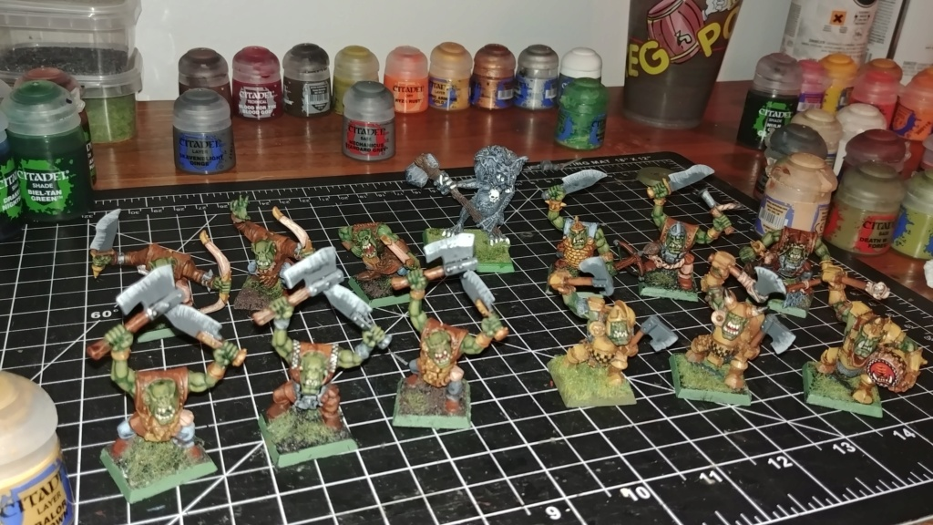 Shinny new Black orc warband  07311812