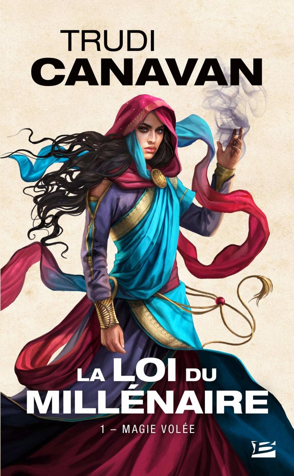 CANAVAN Trudi - LA LOI DU MILLENAIRE -Tome 1 : Magie Volée La-loi10
