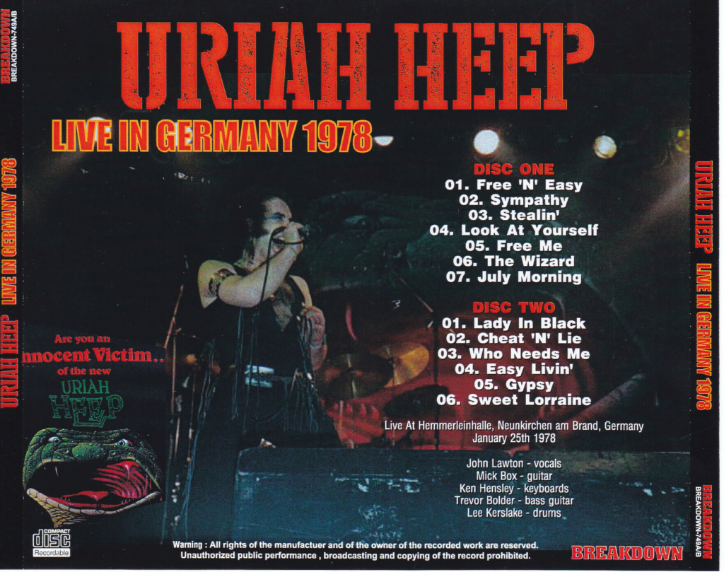 Live In Germany 1978 Uriah-10