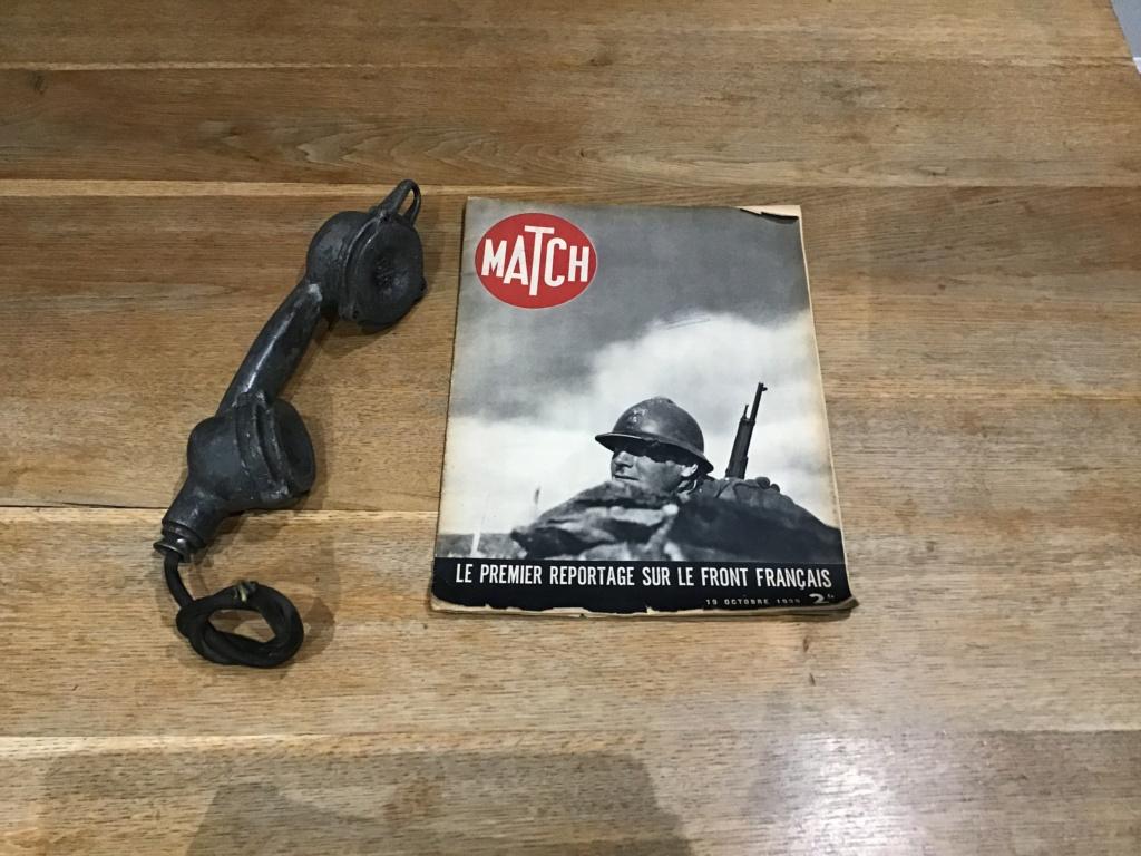 Téléphone de bunker et match  1b2f4f10