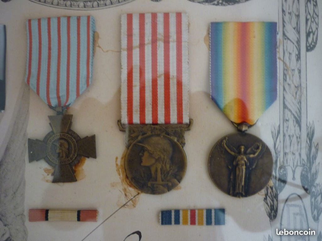 Cadre médaille ww1 20f5ea10