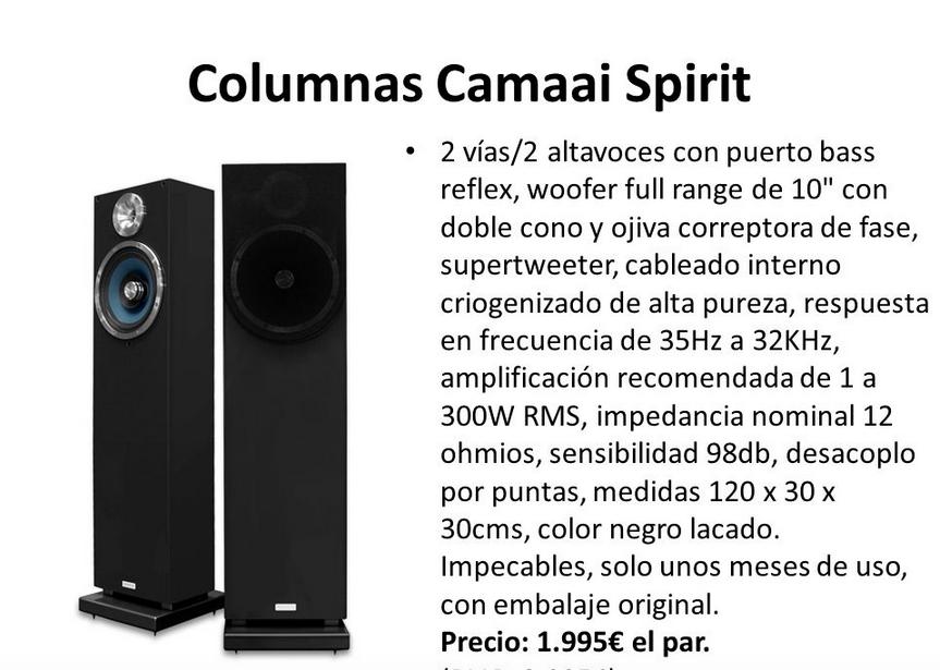 Camaai altavoces Captur11