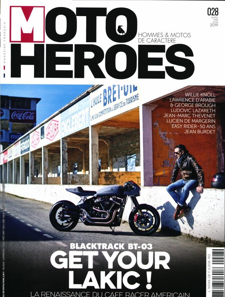 Moto heroes,avril,mai,juin:Lakic,café racer américain.... Mh13