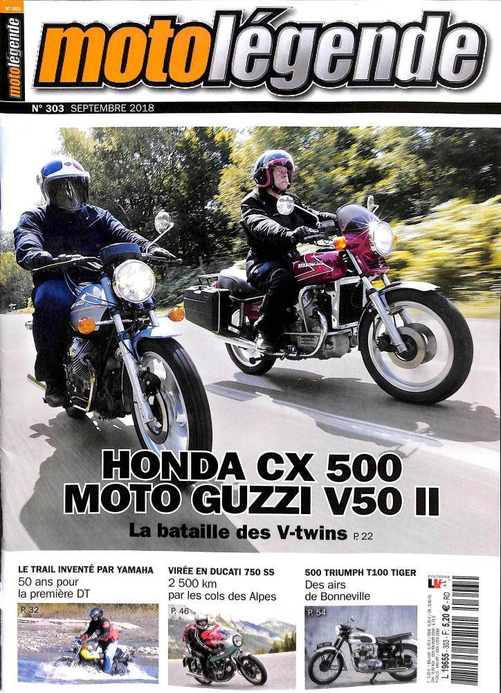 Moto légende de la rentrée.... Ml10