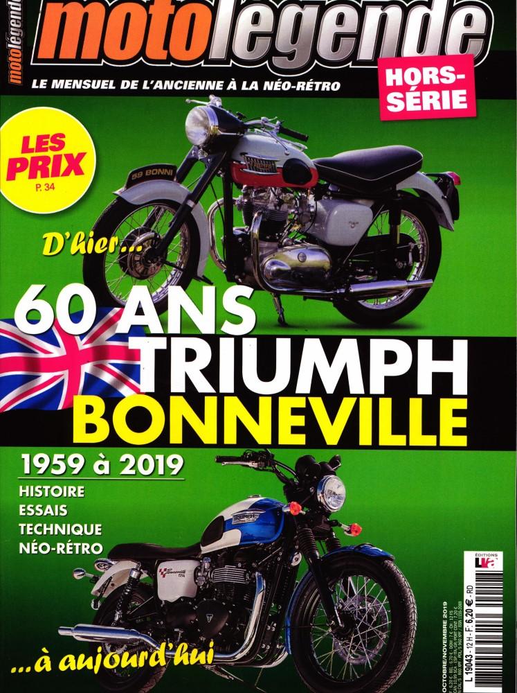 Moto légende hors série :Triumph Bonneville. Ml24