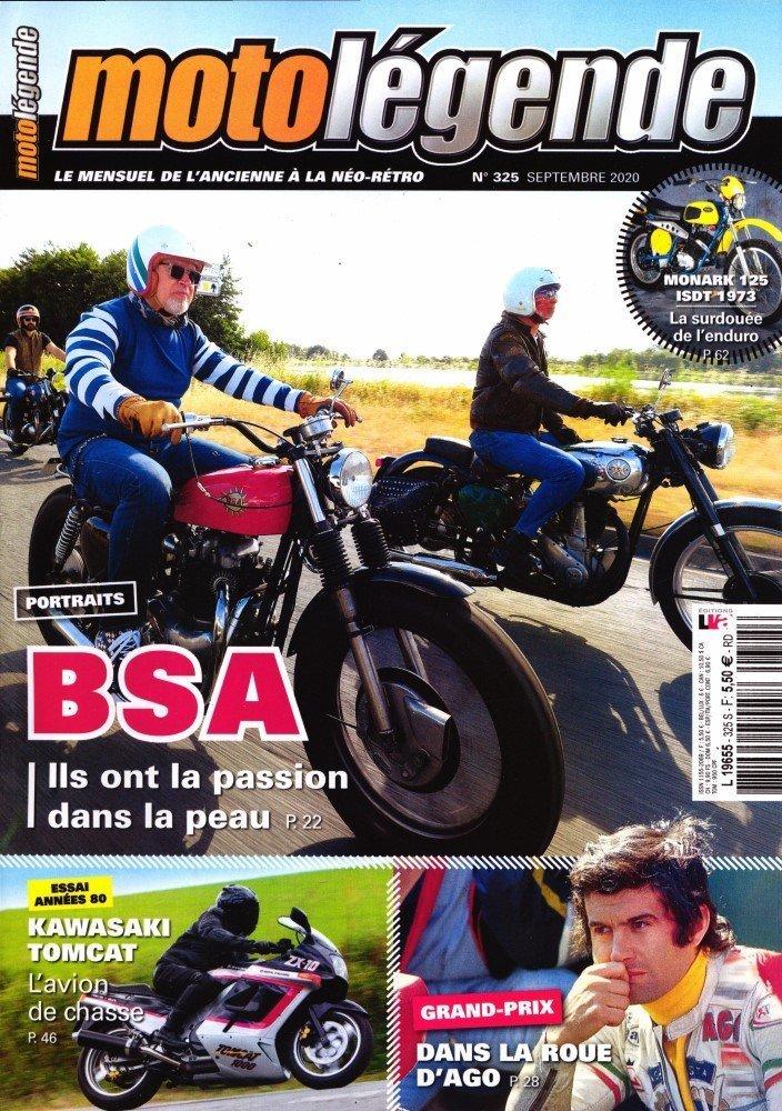 Moto légende septembre:BSA Ml28
