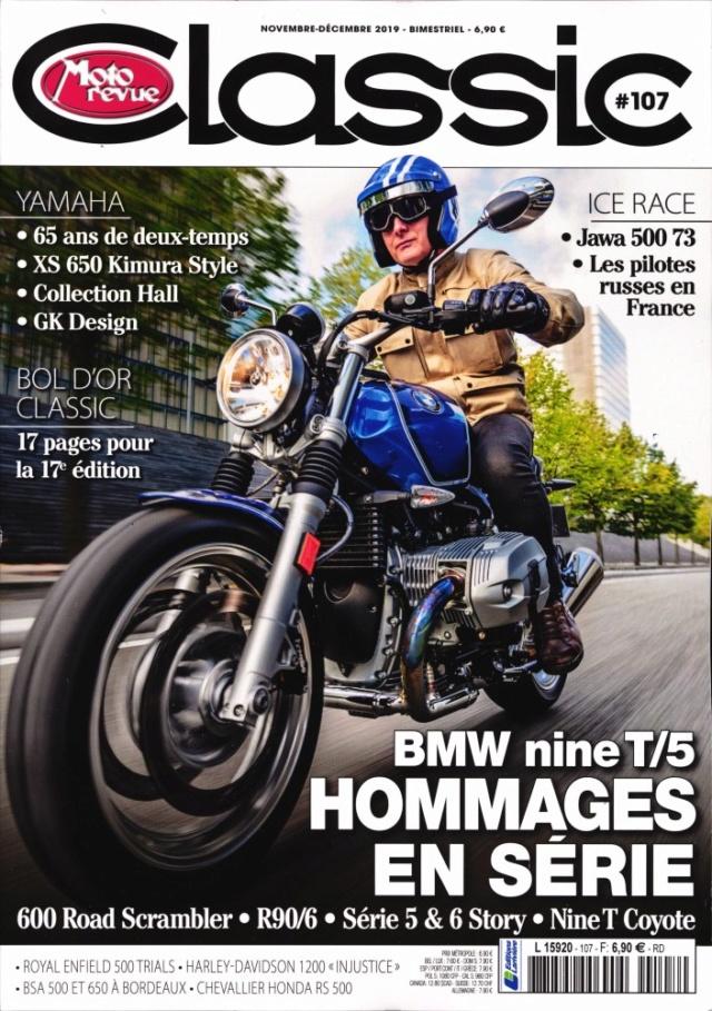Moto revue classic 107:Nine T,Jawa,XS et les Ruskovs.... Mrc10711