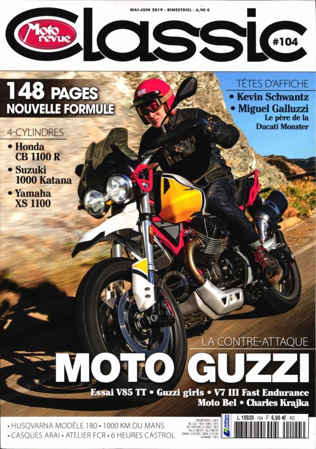 Moto revue classic :une guzzi intéressante.... Mrc11