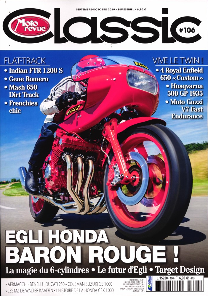 Moto revue classic:Egli toute rouge.... Mrc12
