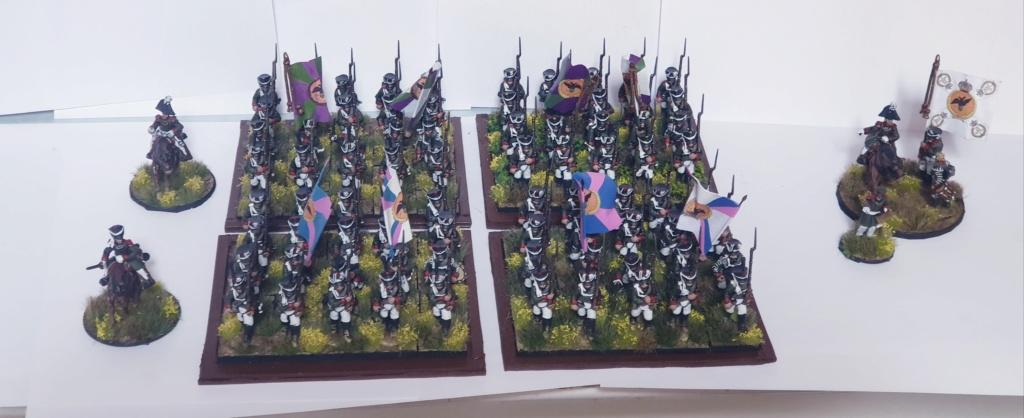 3 ème division du général Konovnitzyne à Borodino  20200622
