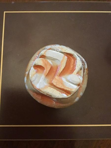 CT saltglazed mini vase - Trevor Chaplin  15f4ad10