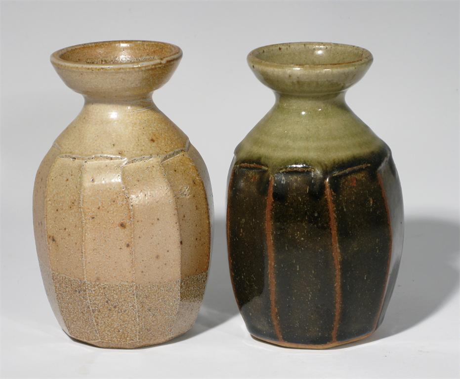 Cut Sided Saltglazed Vase - Richard Batterham 58410