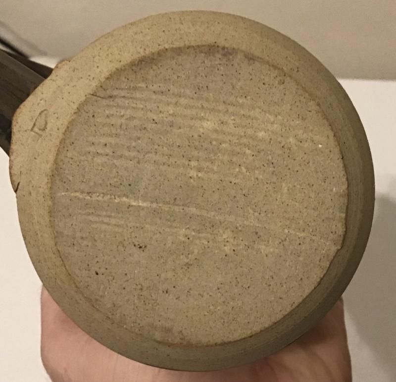 Stoneware jug - just a D B63c7010